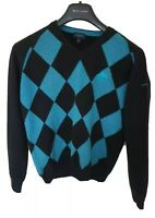 Mens BURBERRY GOLF lambswool jumper/Sweater size small. Immaculate. RRP £325.