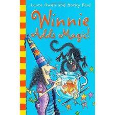 Winnie Adds Magic! by Laura Owen (Paperback) New Book