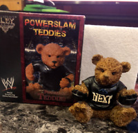 Rare WWE WrestleMania Goldberg Powerslam Teddies Collectible Action Figure Toy