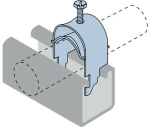 Unistrut CABLE CLAMP Profile Rail Mounting, Zinc Plated- 35mm Or 44mm