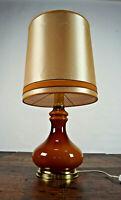 70er Tischleuchte Vintage Stehlampe Chrom Lampe Stehleuchte Leuchte Space Age