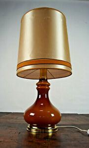 70er Table Desk Lamp Vintage Floor Lamp Chrome Lamp Light Space Age