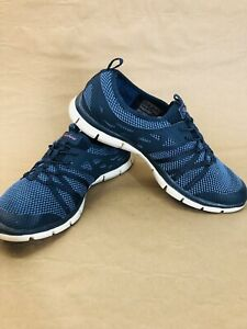 Sketchers Gratis Air-Cooled Memory Foam Slip On Shoes Women's Sneakers 6.5