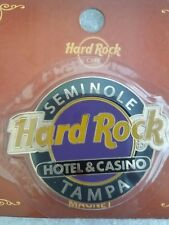 TAMPA,Hard Rock Cafe,HOTEL AND CASINO,Round Logo Magnet (not opener)