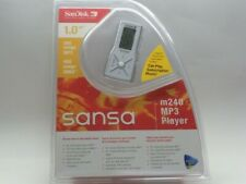 Sandisk Sansa 1GB MP3 Player m240 - Silver - Works perfectly
