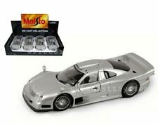 MAISTO 1:24 DISPLAY SPECIAL EDITION MERCEDES-BENZ CLK-GTR DIECAST CAR 34949