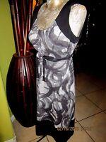 Simply Vera>Black & Gray>Empire dress>Size XS>Rayon-Spandex