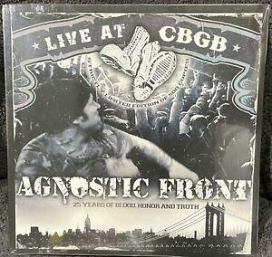 Agnostic Front Live At CBGB LP