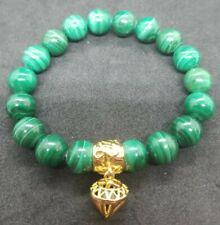 Vintage Russell Simmons Green Initiative Malachite Rough Diamond  Bracelet Rare