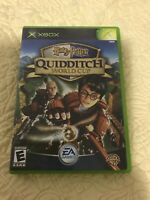 Harry Potter: Quidditch World Cup (Microsoft Xbox, 2003) Excellent