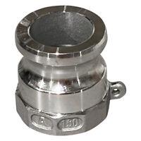 1-1/2 Inch Aluminum Fitting Type A Male Camlock x Female NPT Thread A150