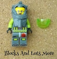 Lego Atlantis Figure Dr Jeff Fisher From 7978 8075 8077 Sets