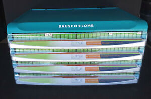 BAUSCH + LOMB Four Drawer Custom Cabinet Display + 250 Biotrue Day Lens =NEW=