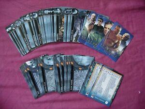 Stargate SG-1 Season 4 X72 card base set Rittenhouse 2002 VFN
