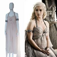 Game of Thrones Mother of Dragons Daenerys Targaryen Costume Fancy Dress