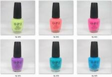"Opi Lacquer Nail Polish Neon Collection Summer 2019 Nl N70 to N75 ""Pick Any"""