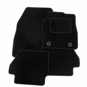 TAILORED: FORD FIESTA MK6 2002-2008 (WITH CLIPS) - DELUXE CARPET CAR FLOOR MATS