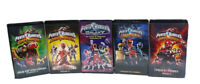 Lot of 5 Mighty Morphin Power Rangers VHS Cassettes Tapes Vintage