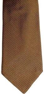 "Banana Republic Men's Silk Tie 57"" X 4"" Olive/Orange British Striped"