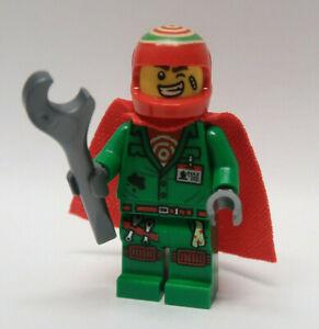 NEW Douglas Elton (El Fuego) W/ Cape 70425 70421 Hidden Side LEGO Minifigure