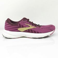 Brooks Womens Launch 6 1202851B553 Purple Running Shoes Lace Up Low Top Sz 7.5 B