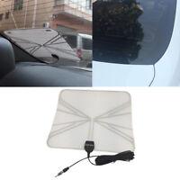 Car TV Digital DVB-T FM Antenna Aerial Amplifier Booster SMA Plug Connector