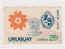 (UGA-30) 1970 Uruguay 25p Expo 70