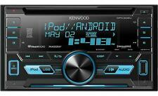 NEW Kenwood Car Stereo 2-DIN CD Receiver with Front USB & Aux Inputs DPX302U