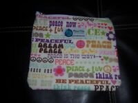 PLanet Wise snack and lunch line sanwhich bag think peace