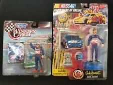 97 Starting Lineup Winner's Circle Dale Jarrett Figurine Nascar #88 lot of 2 G26