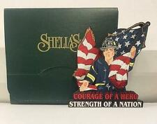 Sheilas Collectibles- Fire Fighters Courage Of A Hero Sept.11,2001.-New In Box