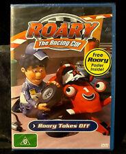 Roary The Racing Car - Roary Takes Off - DVD - Region 4 - New