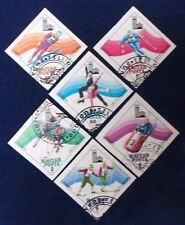 Hungary SC# C410-5 CTO 1978 IMPERF Winter Olympics
