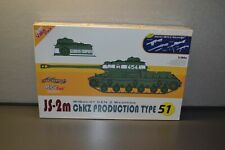 Dragon 1/35 9151 Js-2m ChKz Prod Type 51 Tank Model Kit Is-2m w/ Bonus Weapons