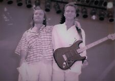 PHIL COLLINS STING PHOTO LIVE AID 85 TINTED UNRELEASED IMAGE EXCLUSIVE 12 INCHS