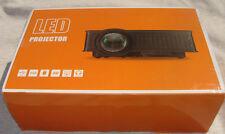 Owlenz SD50 Mini Projector 1500 Lumen Home theater LCD LED 1080P (white/black)