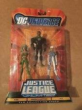 Justice League Fire Green Lantern Ice Action Figure Set DC Universe Fan 3 Pack
