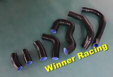 Black Silicone Radiator Coolant Hose Lotus Esprit 2.2 L 910/910S turbo I4 87-92