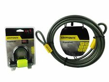 Kryptonite KryptoLok Series 2 Disc Lock Green KryptoFlex 3010 30ft Looped Cable