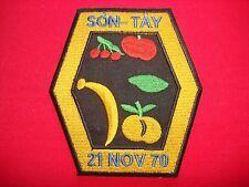 USAF POW RESCUE Operation SON TAY 21 NOVEMBER 70 Vietnam War Patch