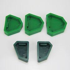 5pcs/set Dental Lab Plaster Model Base Molds New