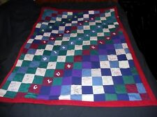 Vintage Handmade Discovery Club Kids Signature Quilt Hildebrandt Sheffield More