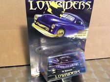 1949 Mercury  custom  LOWRIDERS purple slammed 1/64