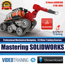 Mastering SOLIDWORKS - 33 Video Training Courses Project Files DOWNLOAD
