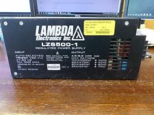 Lambda LZS500-1 Switching Power Supply  5V 100A 500Watt   Used