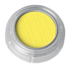 Grimas Puder Lidschatten Eyeshadow in Signal Gelb Farbintensiv N.281 Matt