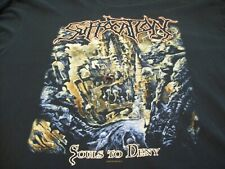 "SUFFOCATION ""SOULS TO DENY"" T-SHIRT XL LONG SLEEVE 2005 BLACK METAL ETC"