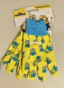 Illumination Entertainment Minions Children's Garden Gloves - NEW