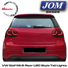 VW Golf Mk5 Rear LED Style Rear Lights Cherry Red Finish JOM 82929