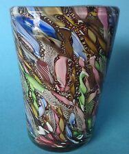 2von4: Art Glass Vase AVEM Murano Glas Aureliano Toso Murano Dino Martens ~1955
